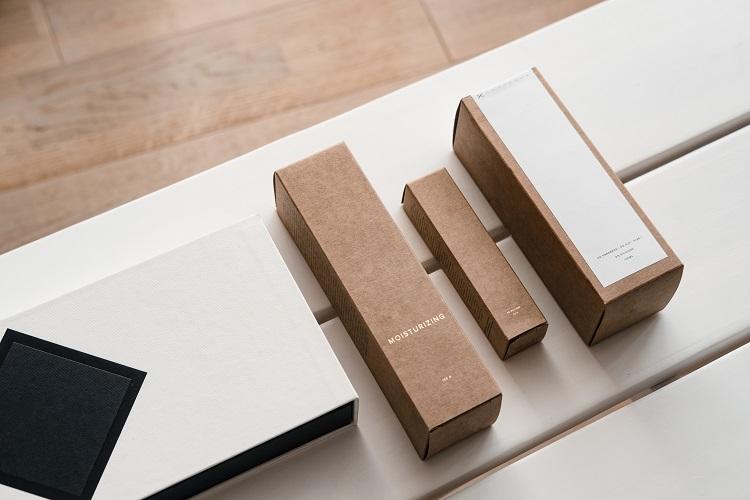 化粧品の外箱やシュリンクなどパッケージのタイプ