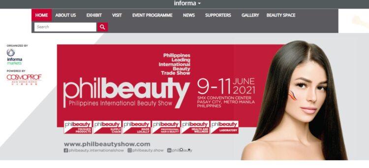 フィリピン唯一の国際美容見本市「philbeauty(フィルビューティ)」