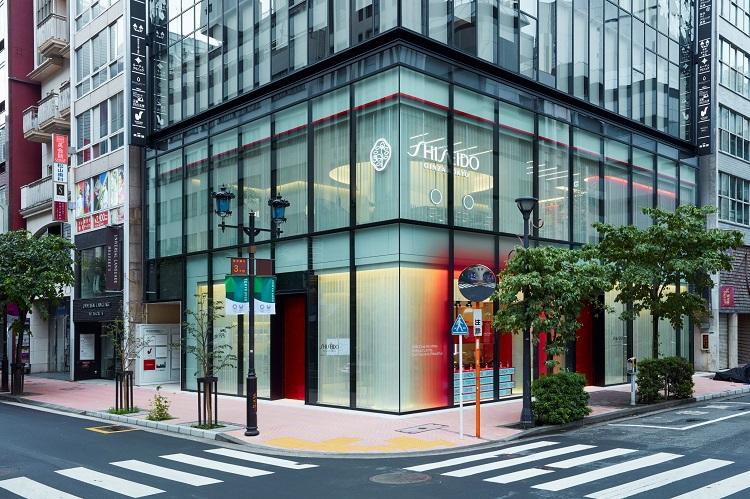 資生堂の旗艦店「SHISEIDO GLOBAL FLAGSHIP STORE」